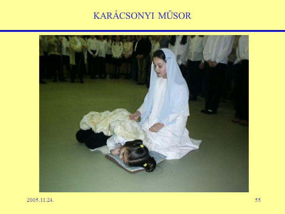 2005.11.24.55 KARÁCSONYI MŰSOR