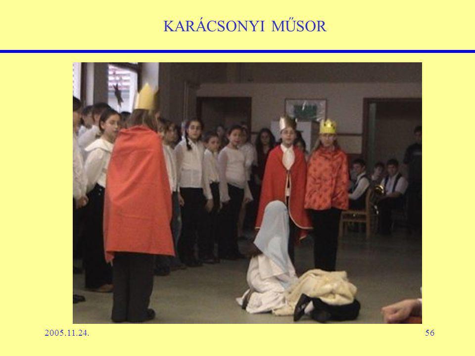 2005.11.24.56 KARÁCSONYI MŰSOR