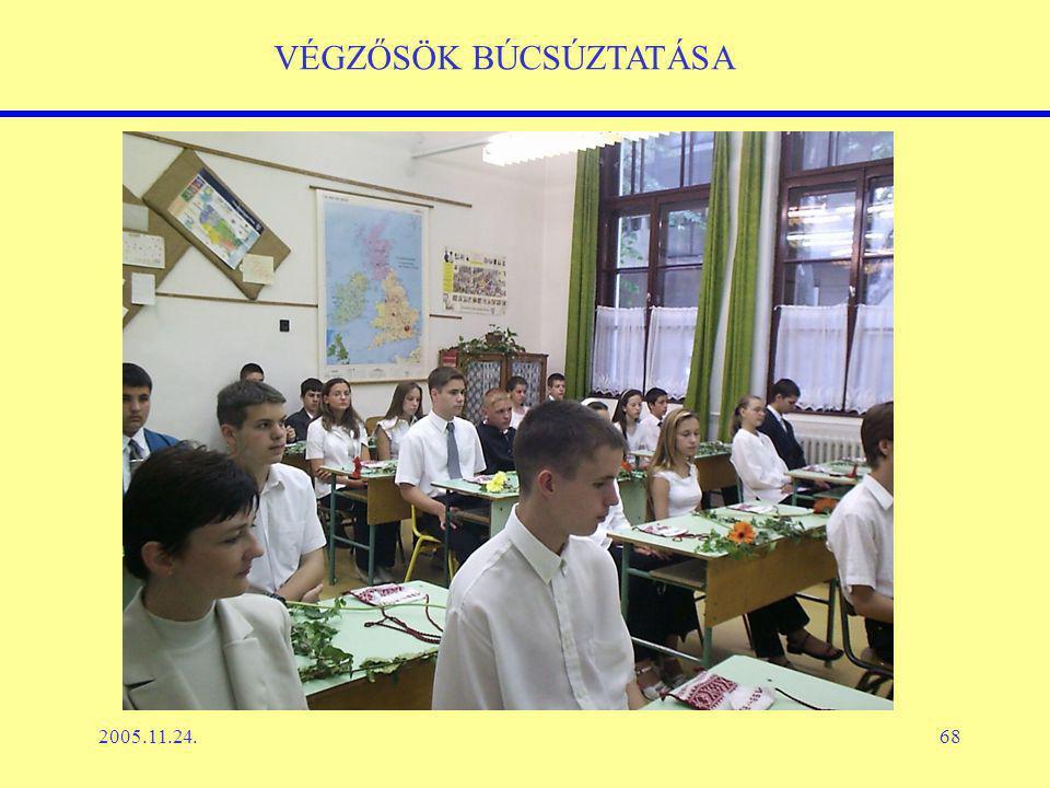 2005.11.24.68 VÉGZŐSÖK BÚCSÚZTATÁSA