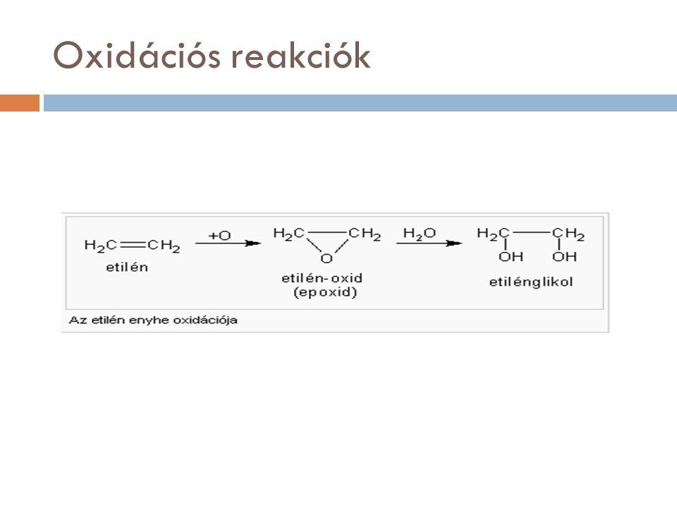 Oxidációs reakciók