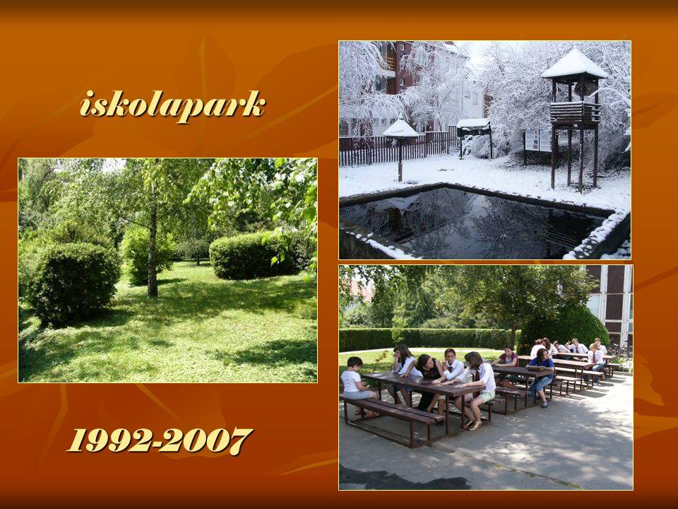 iskolapark 1992-2007