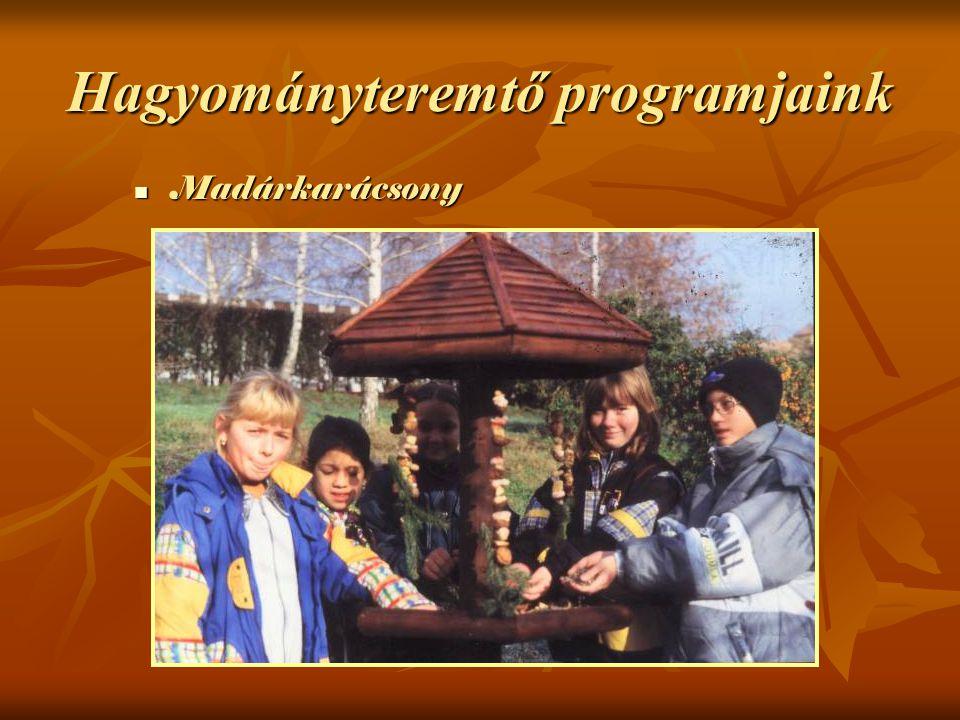 Madárkarácsony Madárkarácsony Hagyományteremtő programjaink