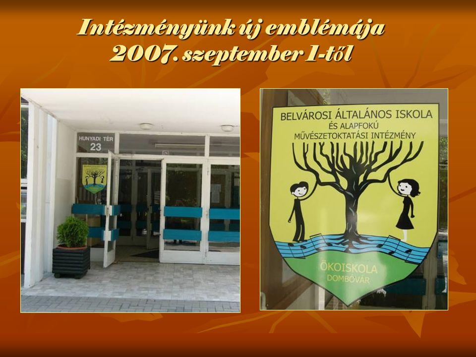 Intézményünk új emblémája 2007. szeptember 1-t ő l
