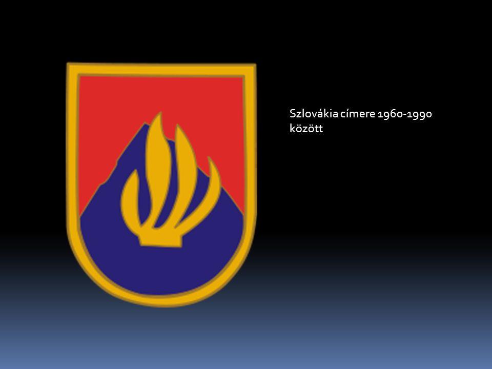 Szlovákia címere 1960-1990 között