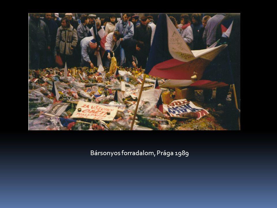 Bársonyos forradalom, Prága 1989