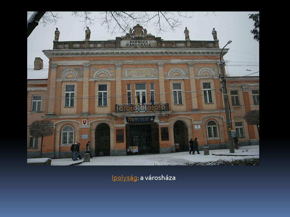 IpolyságIpolyság: a városháza