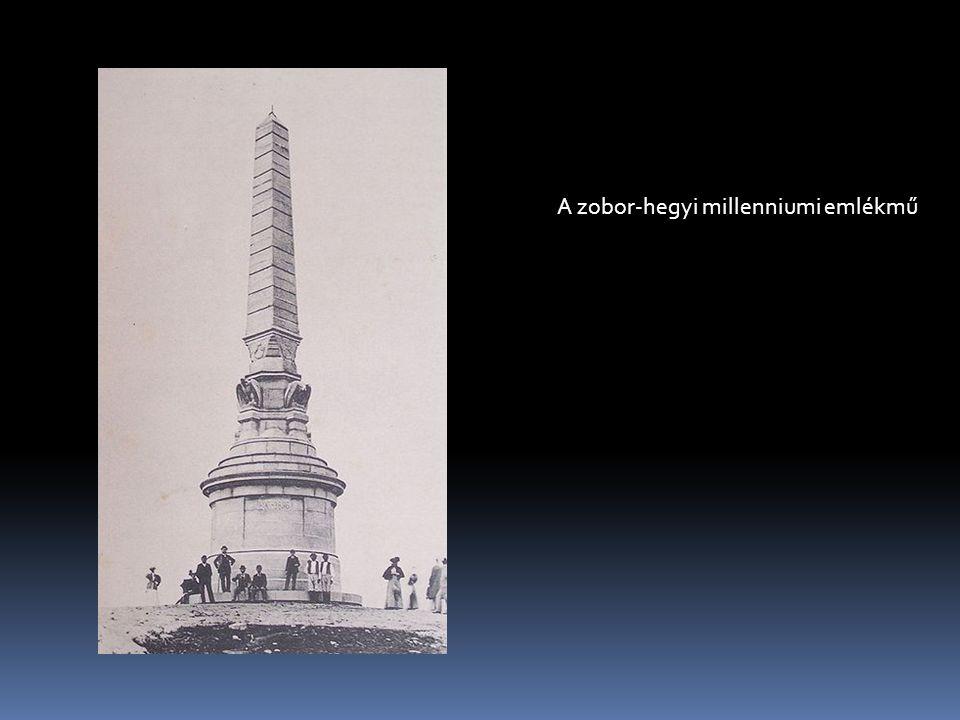 A zobor-hegyi millenniumi emlékmű