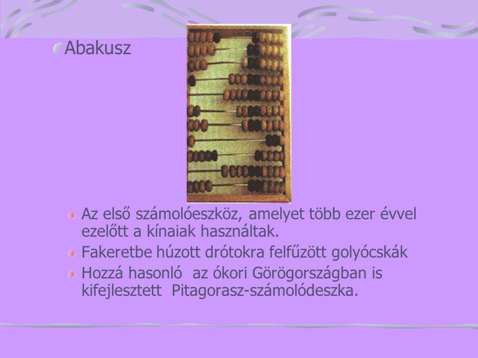 Babbage munkássága XIX.