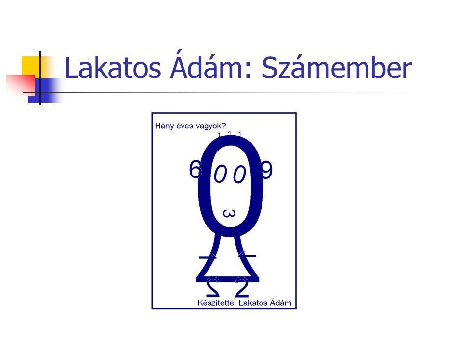 Lakatos Ádám: Számember