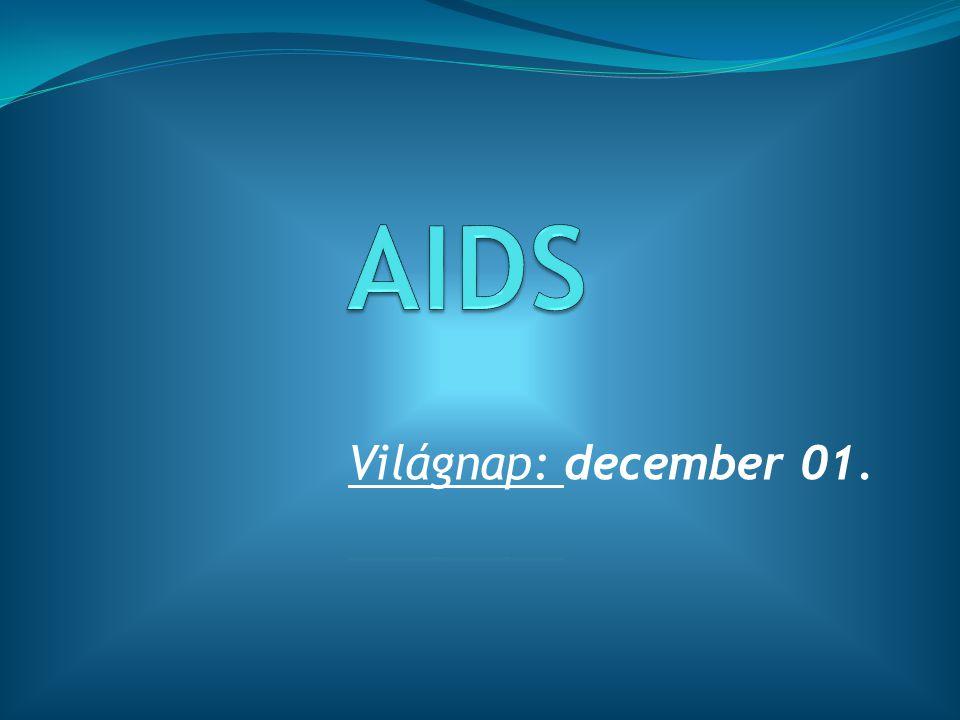 Az AIDS rövidítése: Acquired Immune Deficiency Syndrome = szerzett immunhiányos tünetegyüttes  Az AIDS a HIV (Human Immunodeficiency Virus = emberi immunhiány vírusa) által előidézett tünetegyüttes, amelyet 1981-ben azonosítottak, de már jóval régebben megjelent.