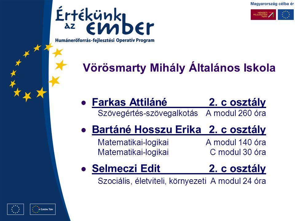 Vörösmarty Mihály Általános Iskola Farkas Attiláné2.