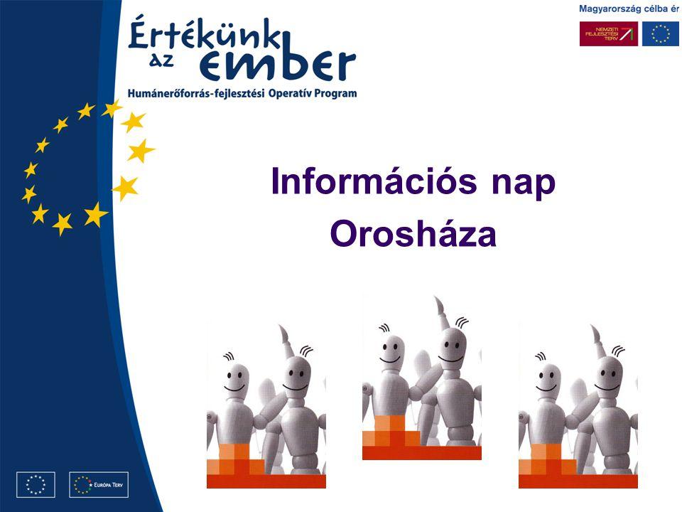 Információs nap Orosháza