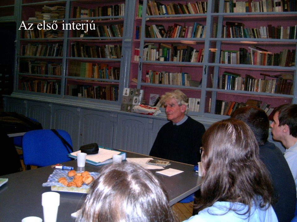 Kutatás Bécsi Egyetem politológia szakos hallgatói is kutatják a rohonci eseményeket Áldozatok családtagjaival készítenek interjúkat Május 18-án érkeztek Magyarországra Vadász Géza feleségével készítettek riportotfeleségével