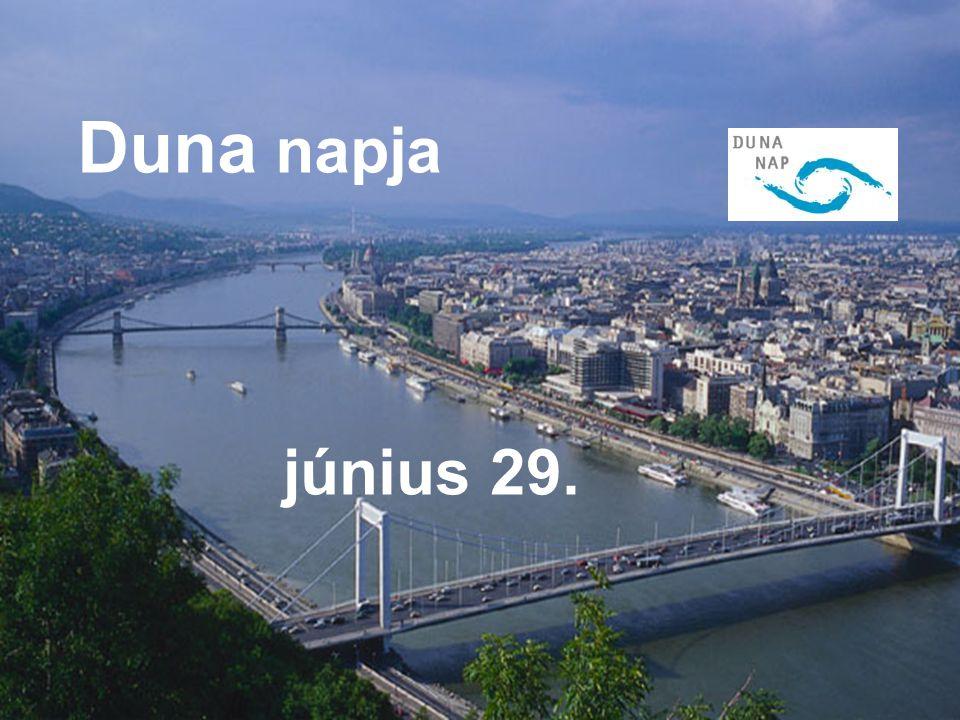 Duna Nap június 29. JÚNIUS 29. Duna napja június 29.