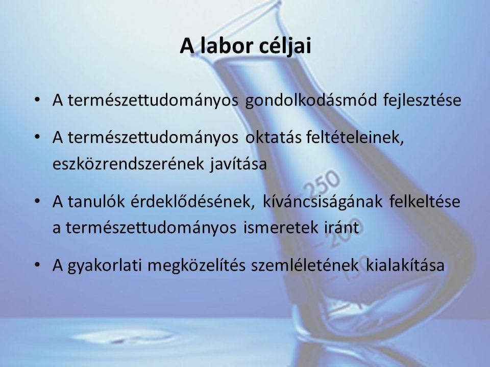 Számszerűsített adatok 243 millió Ft-ot nyert Szolnok Város Önkormányzata a laboratóriumra 14 iskola és 71 pedagógus vesz részt a programban (6-12.