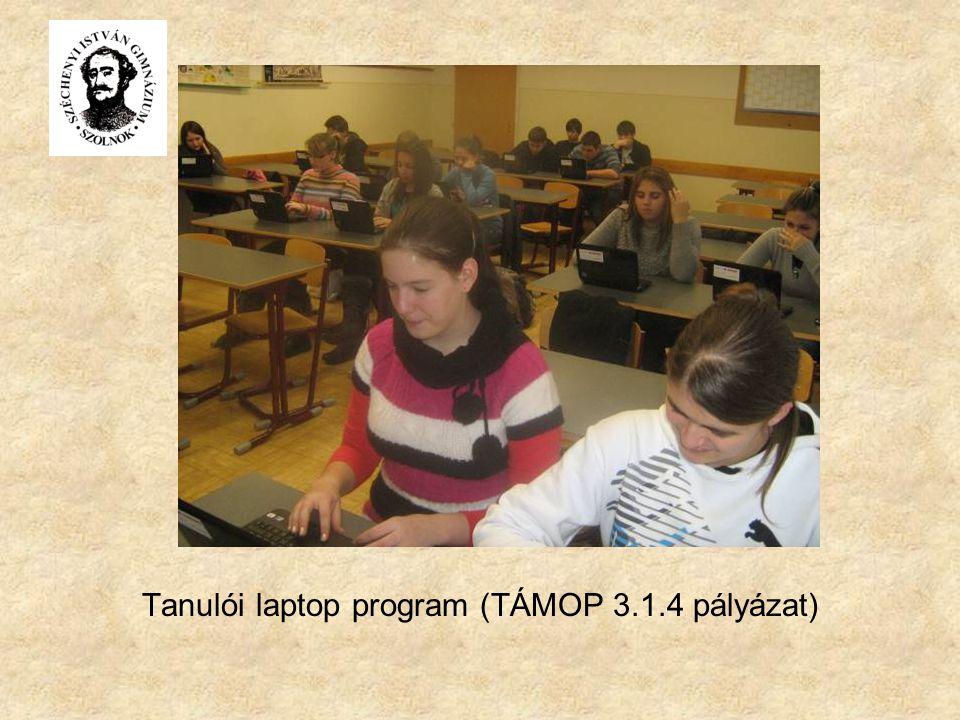 Tanulói laptop program (TÁMOP 3.1.4 pályázat)