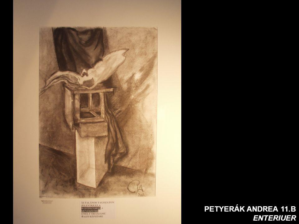 PETYERÁK ANDREA 11.B ENTERIUER