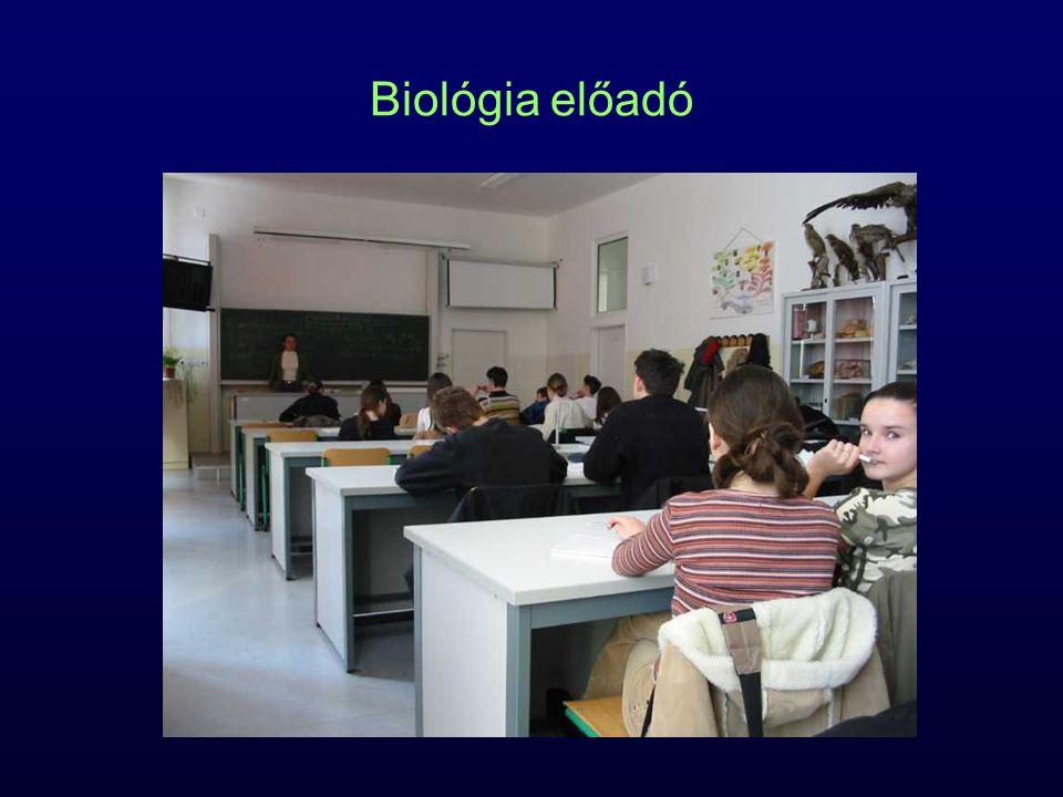 Biológia előadó