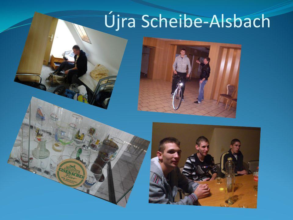 Újra Scheibe-Alsbach