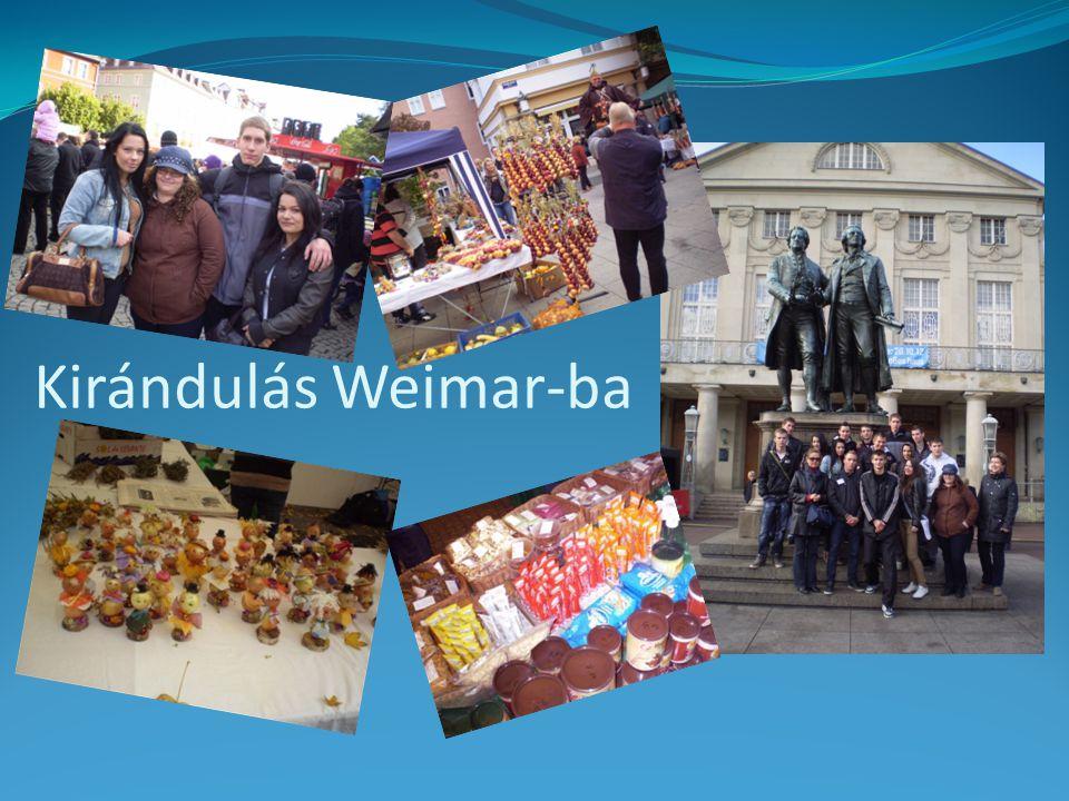 Kirándulás Weimar-ba
