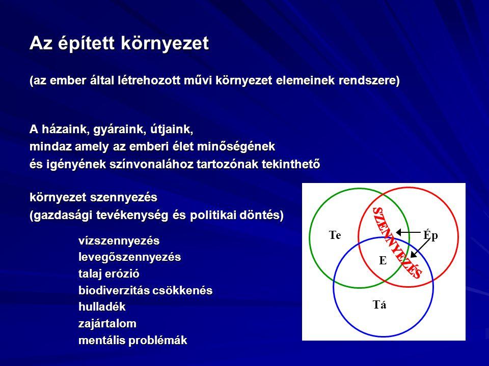 mutatók Példák az egyes kapcsolódó tevékenységekre 3.