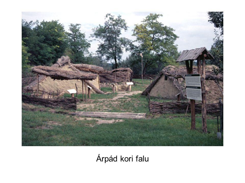 Árpád kori falu