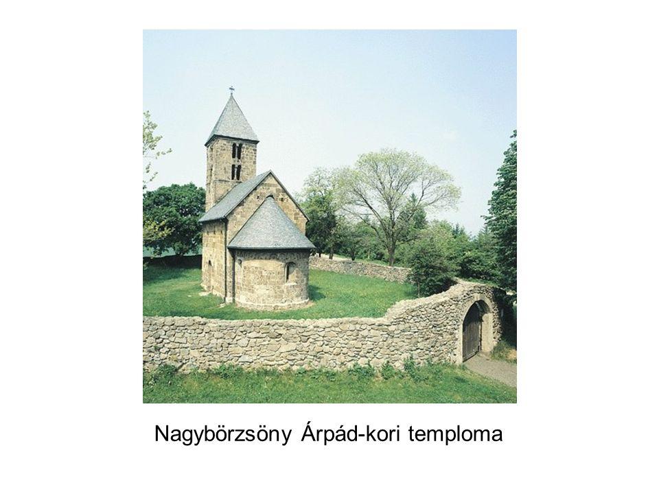 Nagybörzsöny Árpád-kori temploma