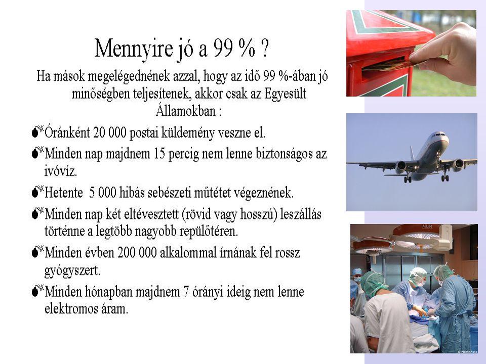 13 A minőségügy története A céhek Európában egyértelműen meghatározták a termék minőségét.