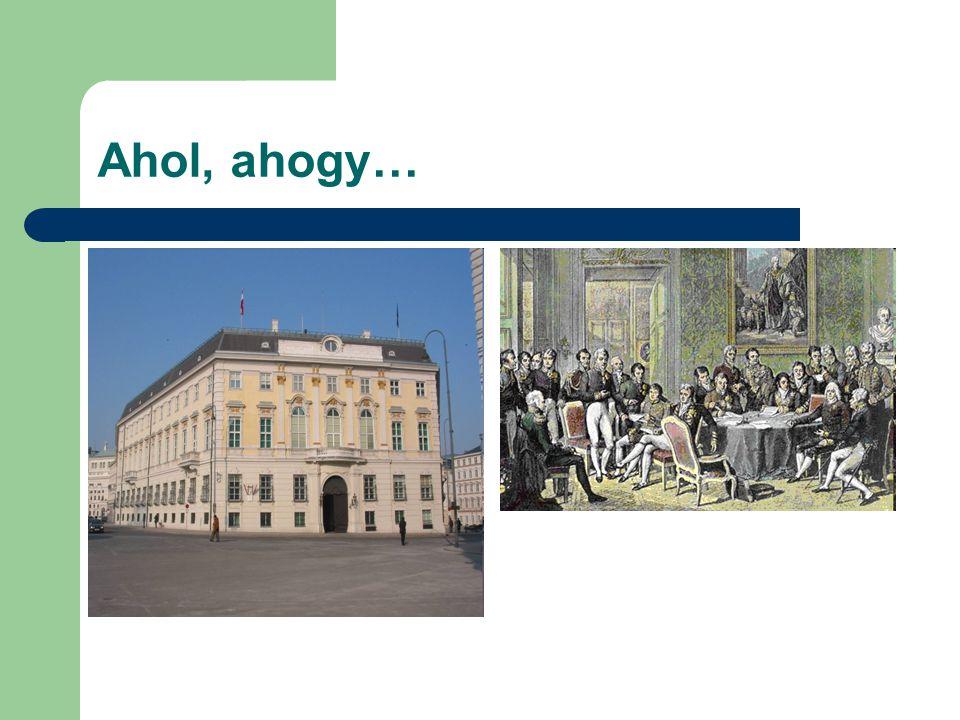 Akik a kártyákat keverték Talleyrand, Metternich és Castlereagh