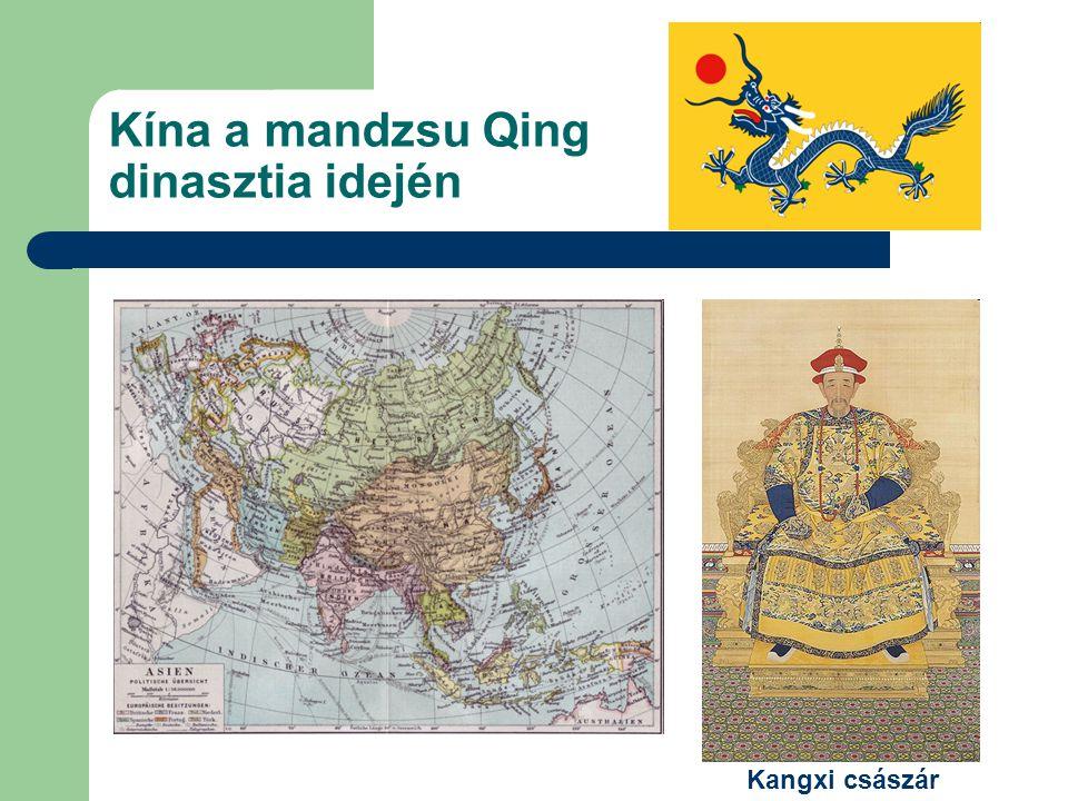 Kína a mandzsu Qing dinasztia idején Kangxi császár