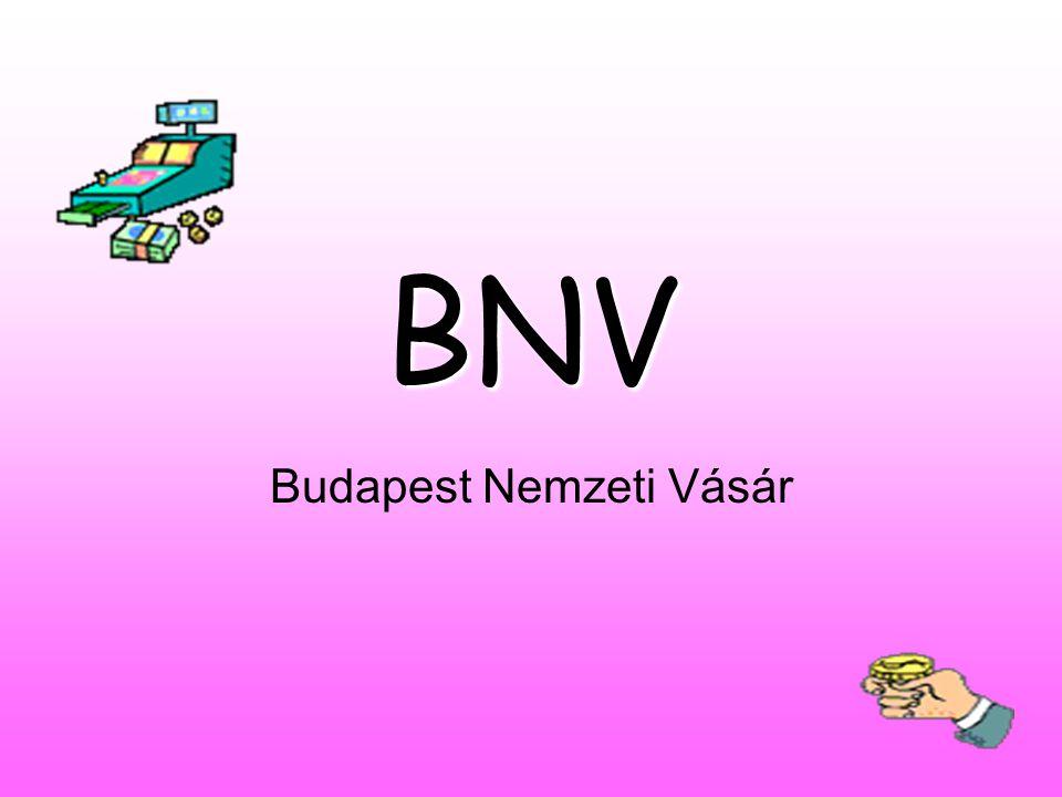 BNV Budapest Nemzeti Vásár