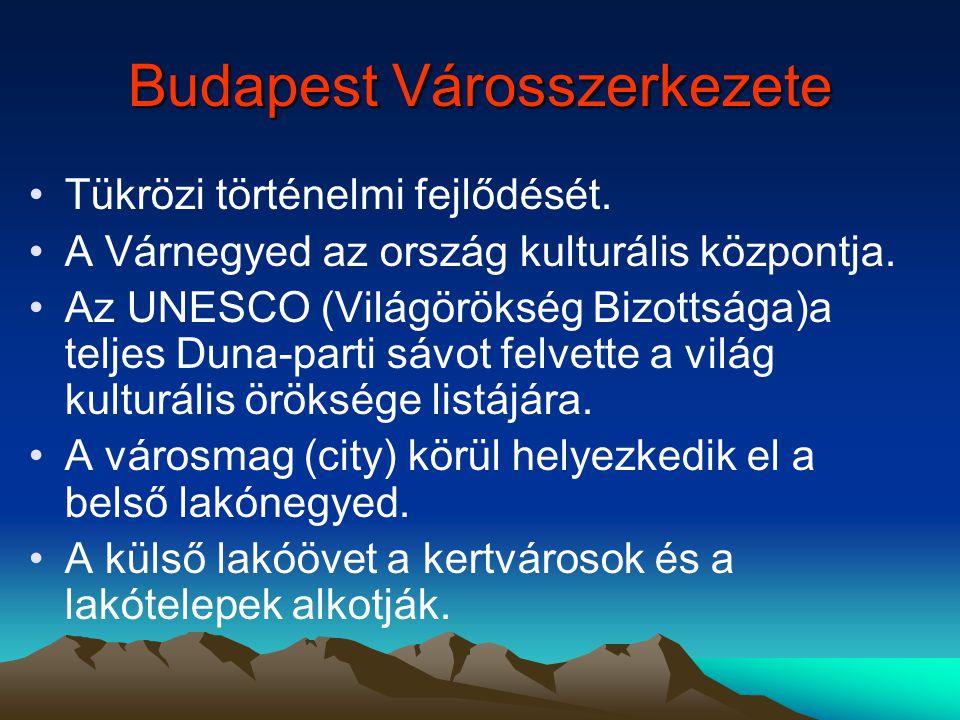 A 14. században jelentős várossá fejlődött Pest, Buda, Óbuda. A 150 éves török megszállás után mindhárom város romokban hevert és a fellendülés csak n