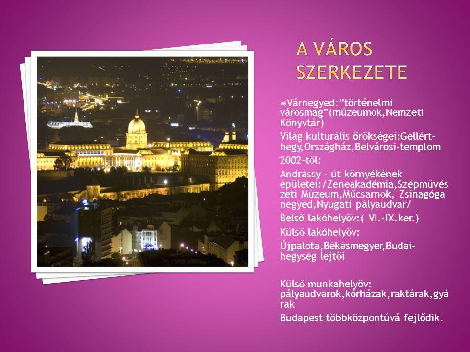 Budapest az őskortól rengeteget fejlődött.
