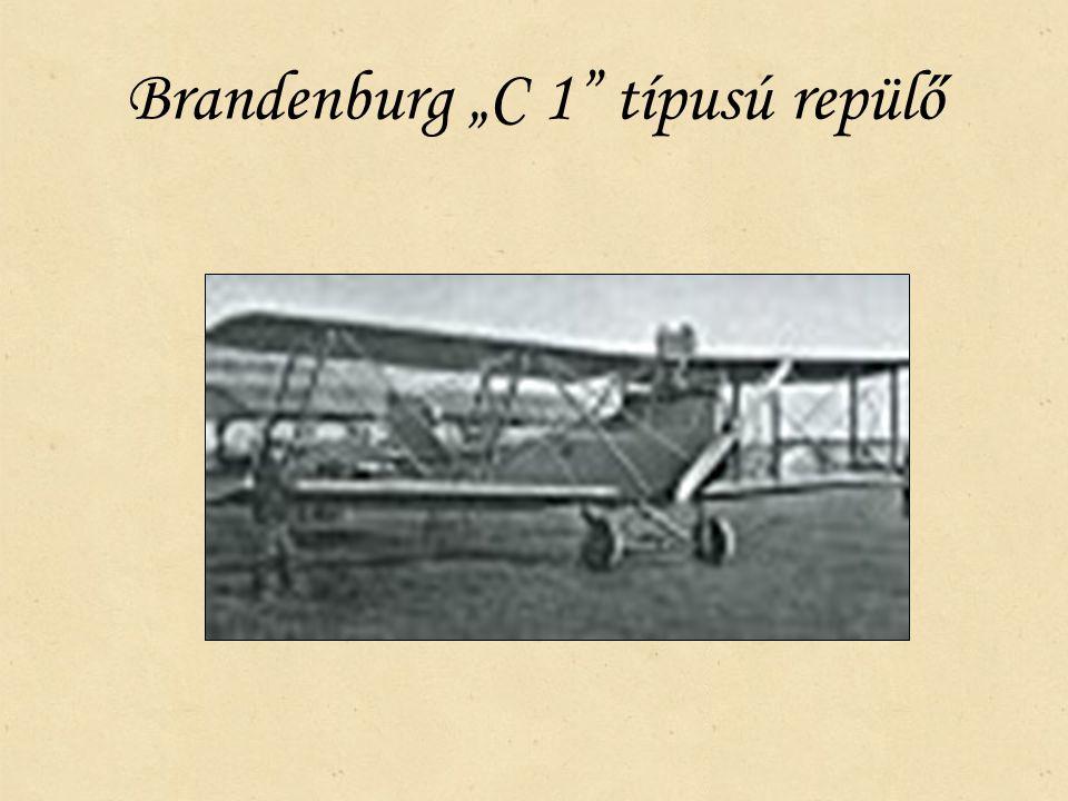 "Brandenburg ""C 1"" típusú repülő"