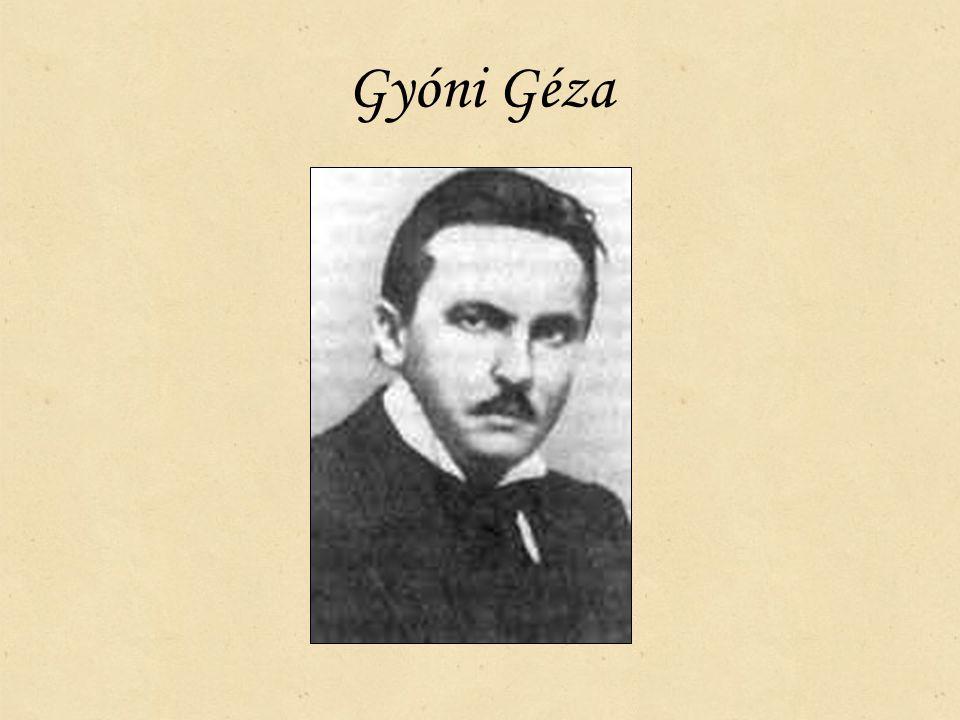 Gyóni Géza