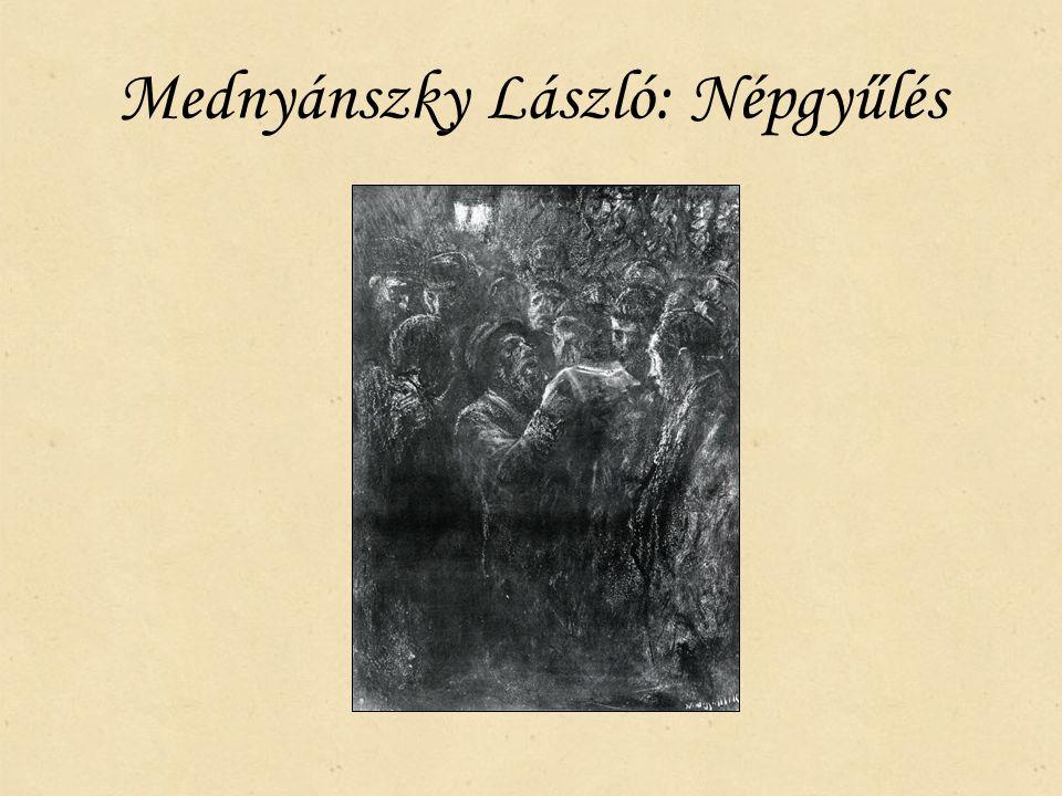 Mednyánszky László: Népgyűlés