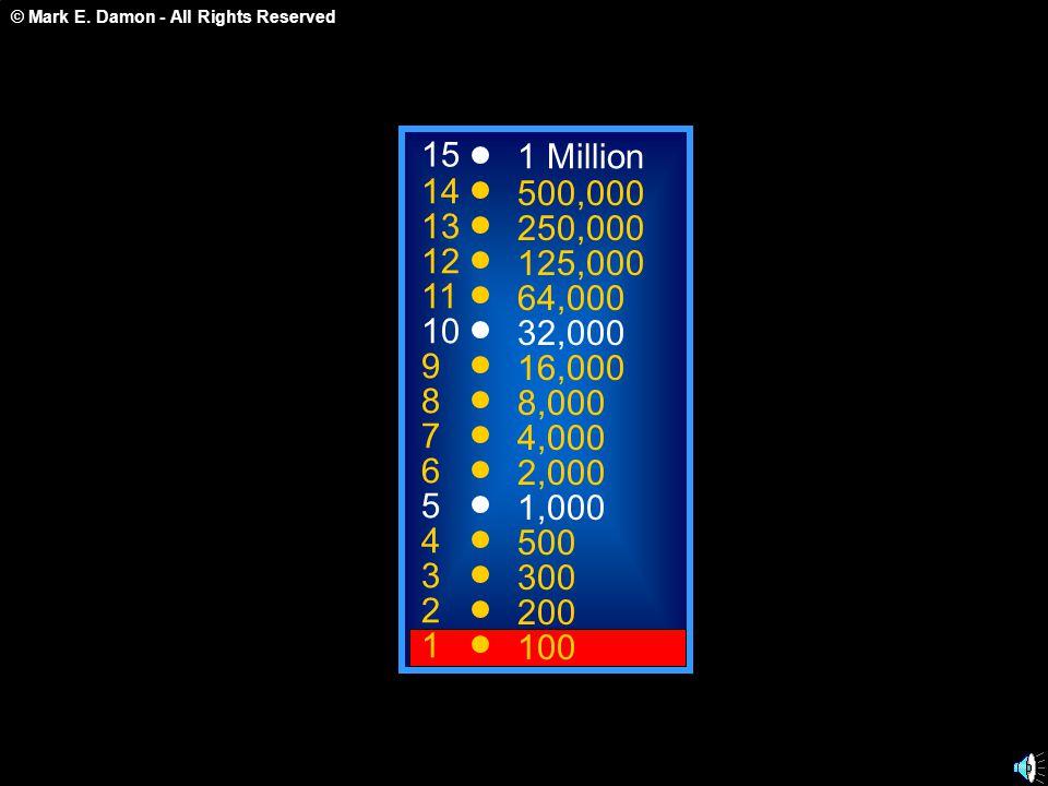 © Mark E. Damon - All Rights Reserved Elérted A 32,000 pontos Küszöböt! G r a t u l á l u n k !