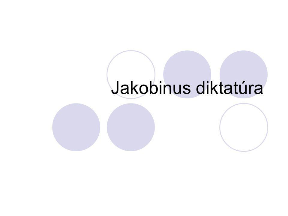 Jakobinus diktatúra