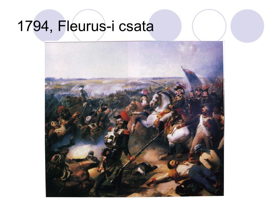 Belső ellentétek kialakulása Robespierre a mérsékeltekkel (pl.