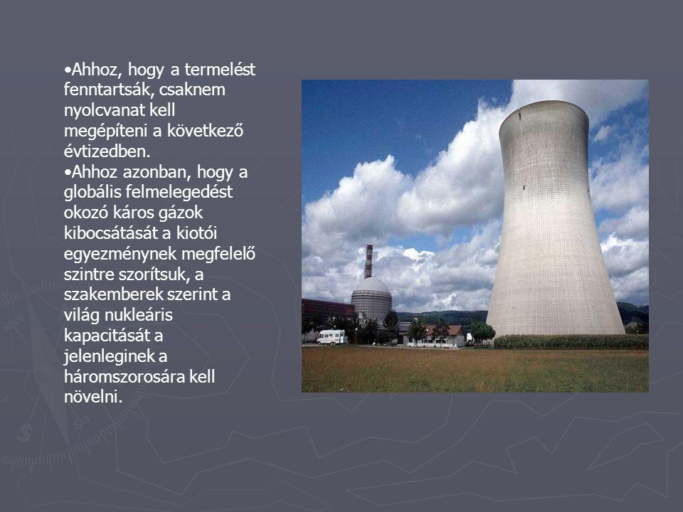 ► A legnagyobb érdeklődés a nukleáris energia iránt az ázsiai országokban van.