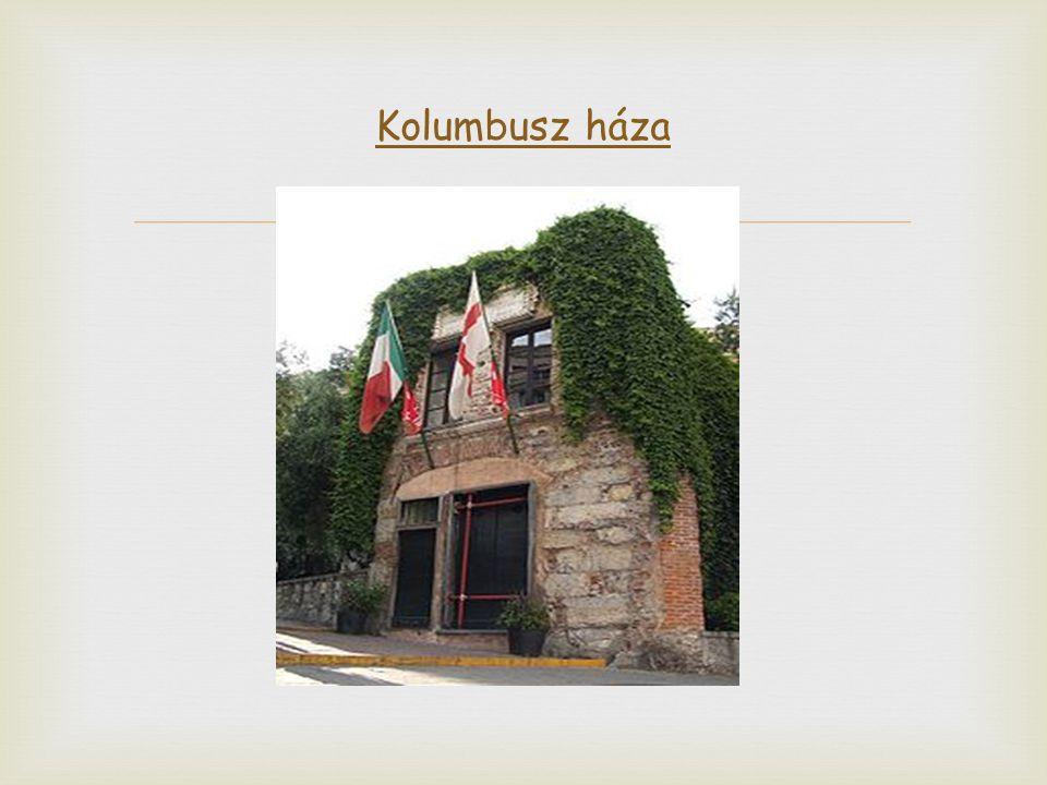 Kolumbusz háza
