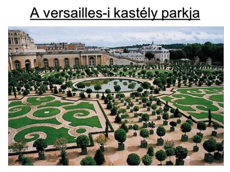 A versailles-i kastély parkja