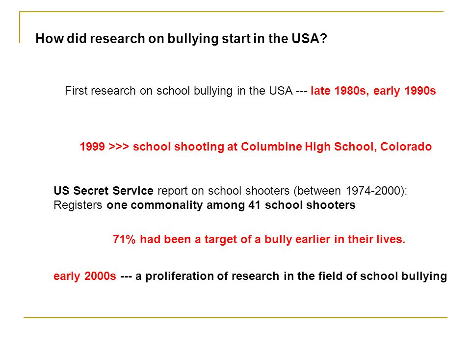 How much is bullying pervasive in American schools.