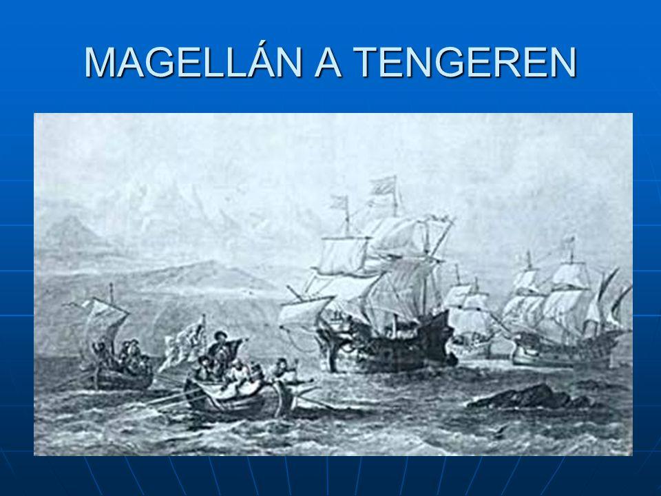 MAGELLÁN A TENGEREN