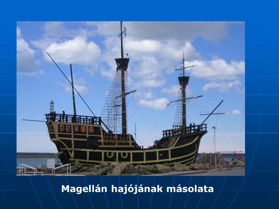Magellán hajójának másolata