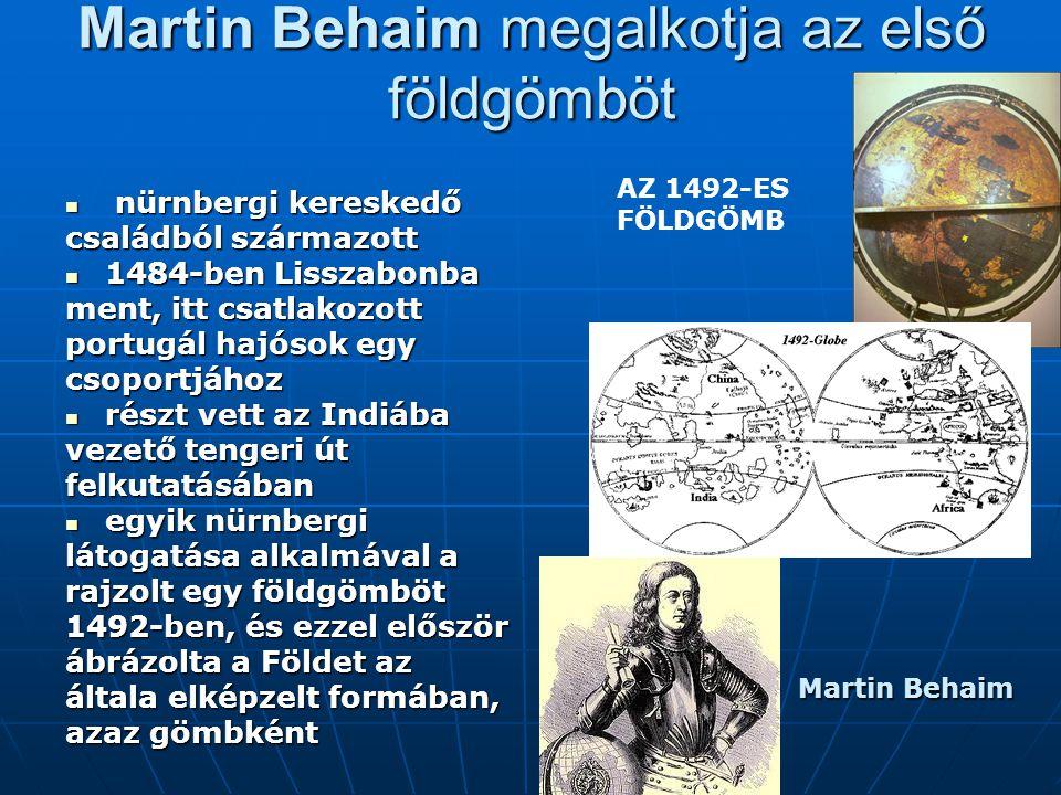 nürnbergi kereskedő nürnbergi kereskedő családból származott 1484-ben Lisszabonba 1484-ben Lisszabonba ment, itt csatlakozott portugál hajósok egy cso