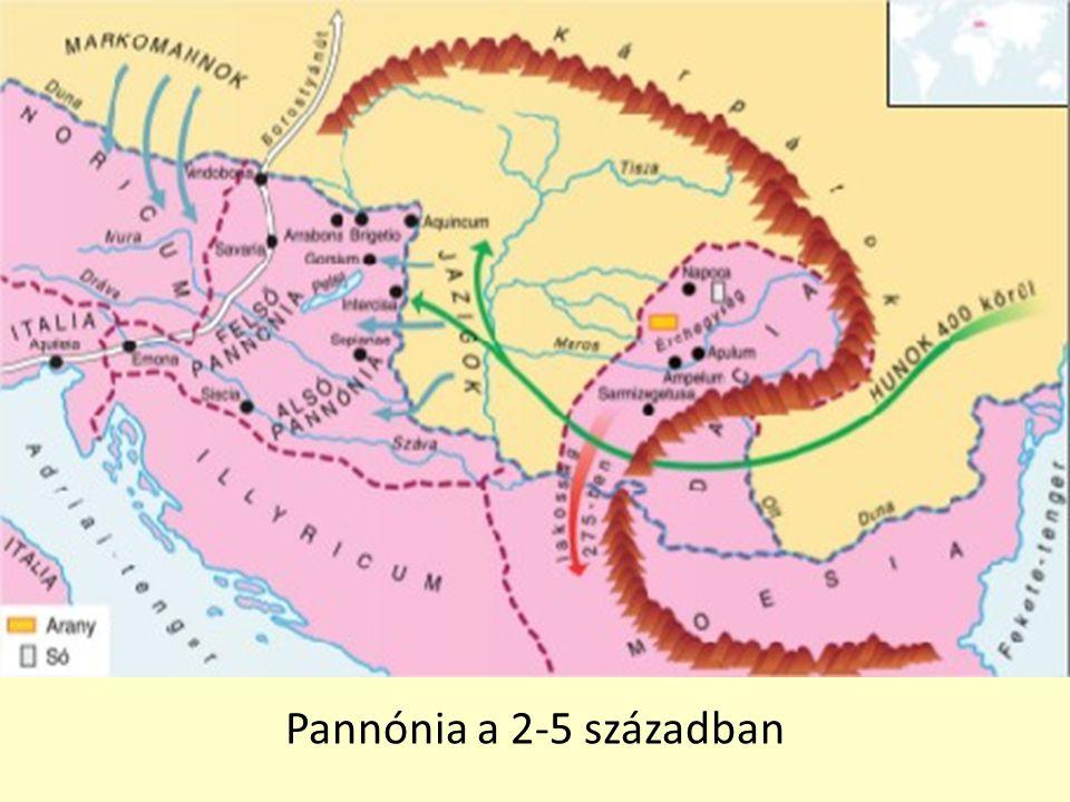 Pannónia a 2-5 században
