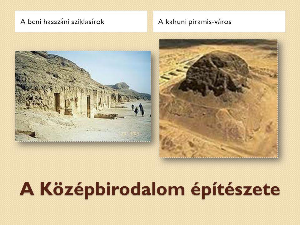 Az Óbirodalom építészete A gízai piramisokKhephrén halotti temploma