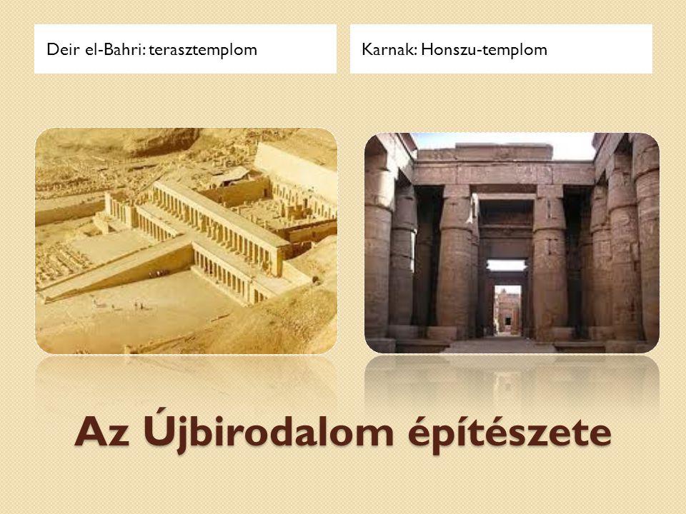 A Középbirodalom építészete A beni hasszáni sziklasírokA kahuni piramis-város