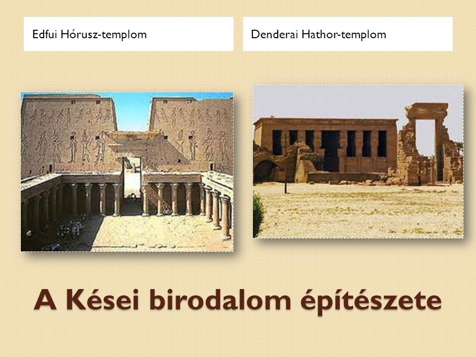 Az Újbirodalom építészete Deir el-Bahri: terasztemplomKarnak: Honszu-templom